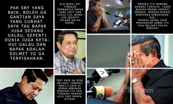 sby curhat